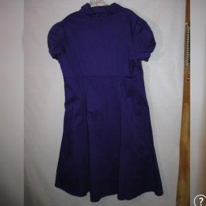 Tropical Wear Dresses - Tropical Wear Purple Swing Rockabilly Dress 2XL